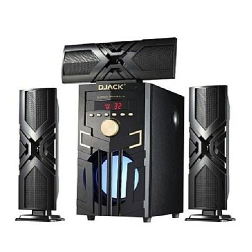 Djack Heavy Bass 3.1 CH Bluetooth Home Theater System