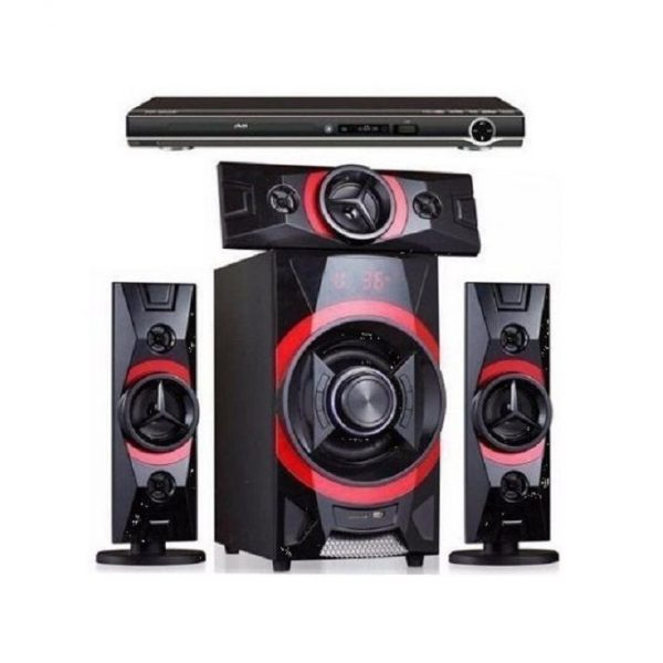 Hisonic Powerful Home Theatre With Bluetooth + DVD Player