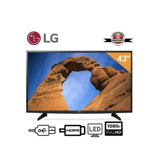 LG 43 Inches Television + Free Wall Hanger And Power Surge
