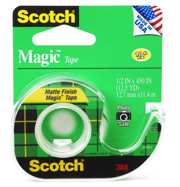 3M 104 1-2″ x 450″ Scotch Magic Tape