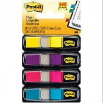 3M-680-SK POST IT FLAGS NOTE 1 x 1-2