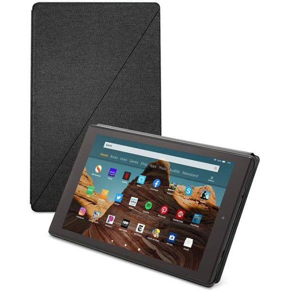 Amazon Fire HD 10 Tablet (10.1 1080p Full HD Display, 32 GB) Amazon Tablet Case Included – Black