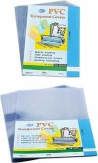 Binding Cover Transparent Clear A3- 250 Micron