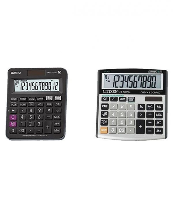 CASIO CALCULATOR- MJ-120D PLUS-BK