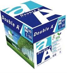 Double A Paper 80 Gsm- A4–5 REAM – 1 CARTON2