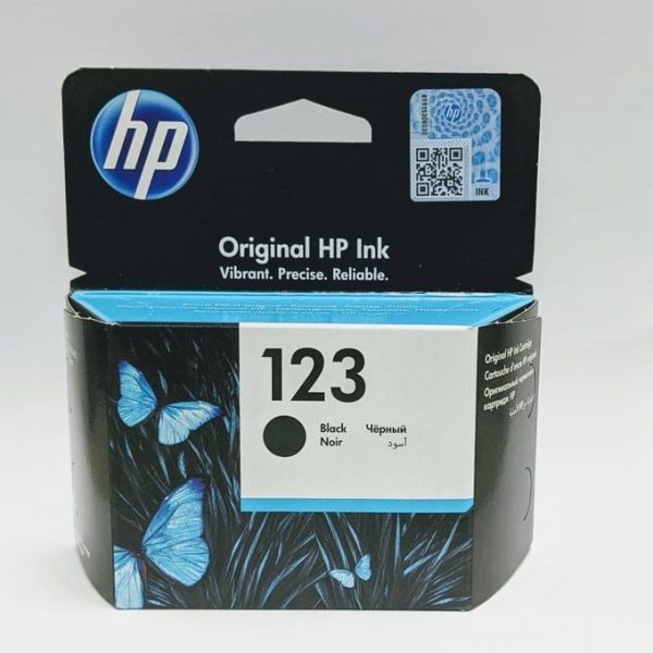 Hp 123 Black Ink Cartridge - F6V17AE