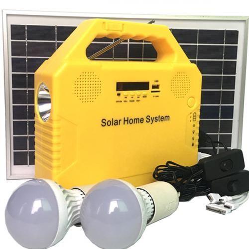 6W Solar Home System With Flashlight, Bluetooth And Radio