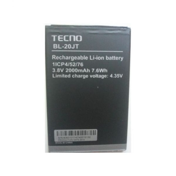 Tecno F2, F1 (BL-20JT) Replacement Battery