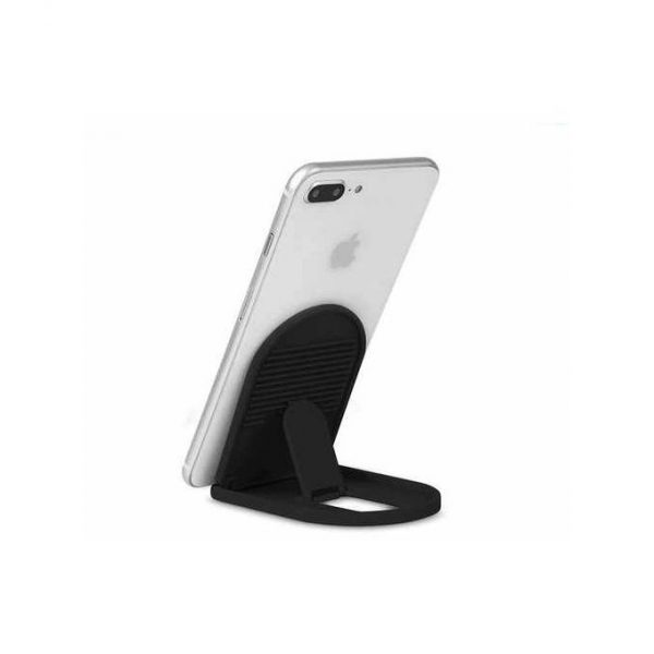 Universal Plastic Foldable Mobile Phone Tablet Holder Stand X 2