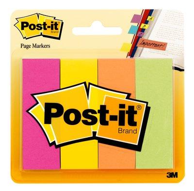 3M 671-4AF Page Marker Fluo Colors, 1x 3 – 4 Pads-Pack 50 sh
