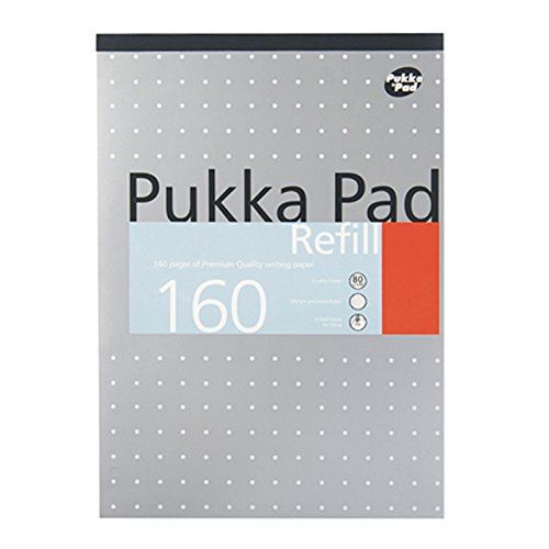 Pukka Pad [6895-PUD] A4 Refill Pad- 2Hole 160 Pages 80Gsm