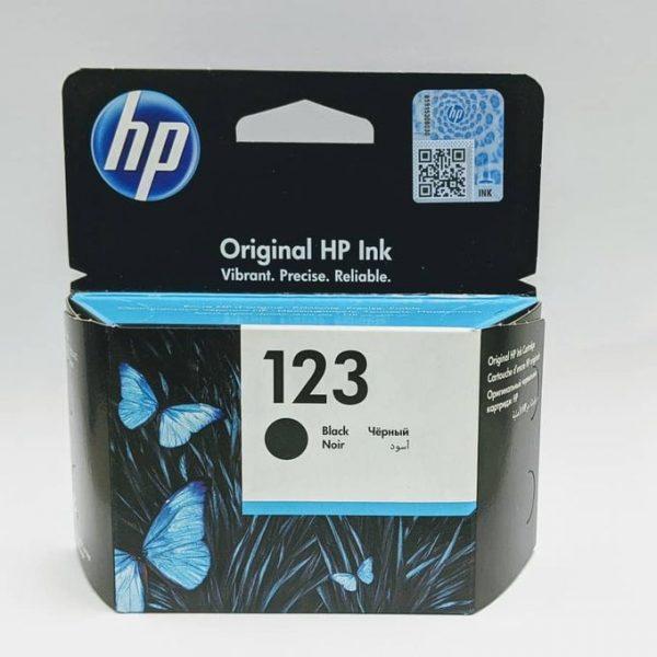 Hp 123 Black Ink Cartridge - F6V17AE